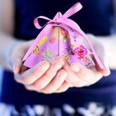 40個裝 歐式結婚糖盒紙盒婚慶禮盒糖果盒婚禮喜糖袋【南風小舖】