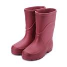 久大 超輕量高筒雨鞋 豆紅 JIO00339 女鞋