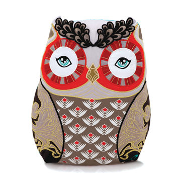 義大利 Papinee Owl Amuse Cushion 英國 貓頭鷹 抱枕