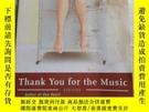 二手書博民逛書店Thank罕見You for the Music(謝謝你的音樂)英文原版,詳情如圖Y204047