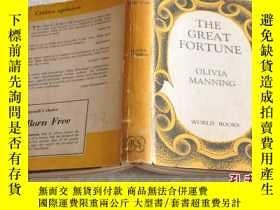 二手書博民逛書店1961年,罕見唯一英文原版,小說,the great fort