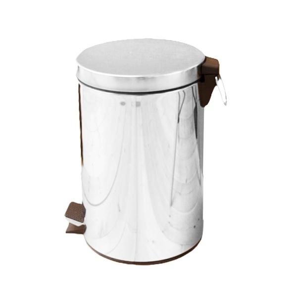 【JL精品工坊】優雅腳踏式垃圾桶12L限時下殺$480元/回收桶/垃圾桶/紙簍/台灣製造/不鏽鋼