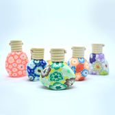 『藝瓶』瓶瓶罐罐 空瓶 空罐 汽車香氛掛飾 擴香瓶 懸掛式精油香薰軟陶瓶