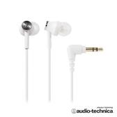 【公司貨-非平輸】鐵三角 ATH-CK350M 耳塞式耳機(附捲線器) 白色