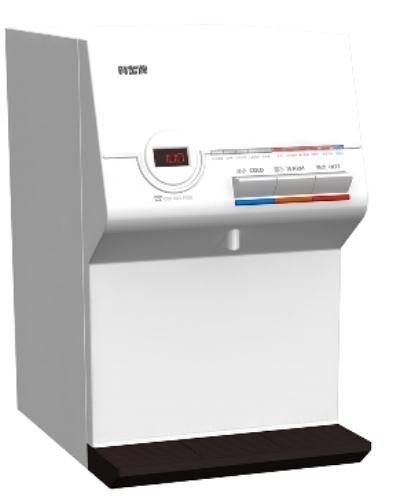 【 水的專家 】賀眾牌桌上型冰溫熱飲水機UW-672AW-1[無過濾器]