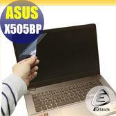 【Ezstick】ASUS X505 X505BP 靜電式筆電LCD液晶螢幕貼 (可選鏡面或霧面)