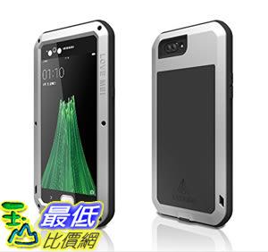 [106美國直購] Love Mei 手機殼 Shockproof Waterproof Metal Aluminum Case For Oppo R11 - Silver