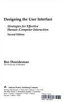 二手書《Designing the user interface: strategies for effective human--computer interaction》 R2Y ISBN:0201572869