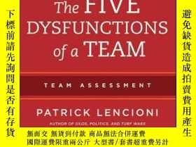 二手書博民逛書店The罕見Five Dysfunctions of a Team: Team Assessment, 2nd Ed