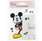 【收藏天地】迪士尼系列*裝飾貼紙-米奇(Mickey mouse) 開關貼 ∕  文創 送禮 卡通 可愛 裝飾 禮品