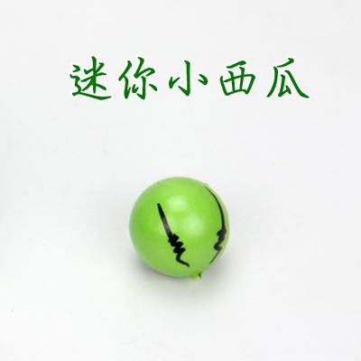 仿真西瓜模型假西瓜片假水果蔬菜套裝攝影居家裝飾早教道具(20個迷你小西瓜一包)─預購CH3259