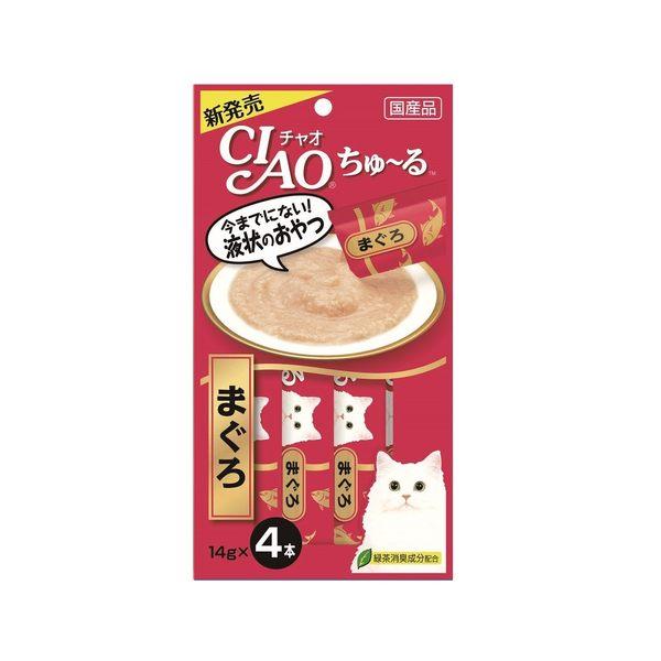 CIAO啾嚕肉泥(鮪魚)14g*4入(6袋/組)
