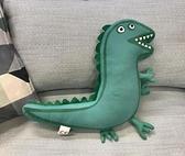 玩偶新款雙面喬治的恐龍先生毛絨玩具抱枕男孩玩偶公仔送寶寶節日禮物  雲朵 618購物