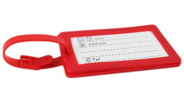 【卡漫城】 國旗 行李吊牌 中華民國 台灣 Flag 名牌套 行李箱 書包識別 姓名掛牌 吊飾 紀念品 矽膠