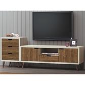 電視櫃 AT-182-34 北歐時尚6.9尺電視櫃【大眾家居舘】