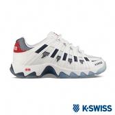 K-SWISS ST429 SB復古老爹鞋-女-白/藍/紅