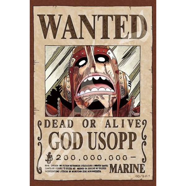 【日本進口拼圖】迷你拼圖 海賊王/航海王/One Piece 懸賞單 騙人布 (150片) ES150-561
