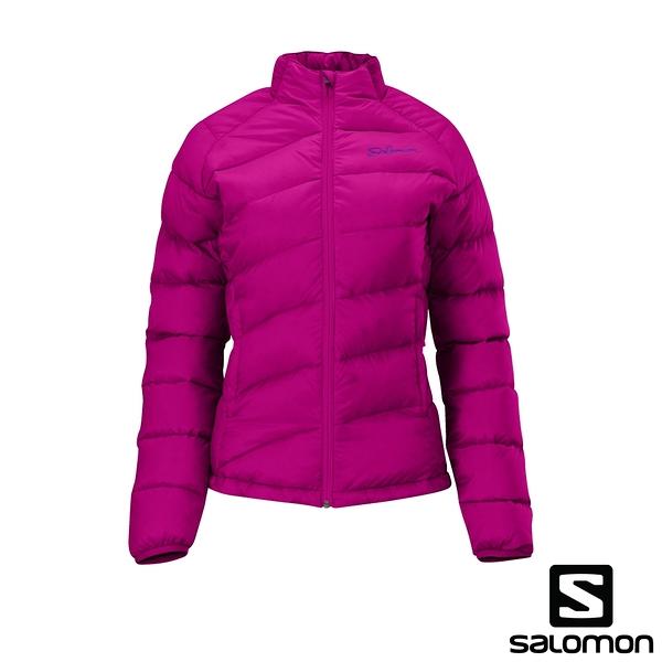 [法國SALOMON] MINIM DOWN JACKET 女性羽絨外套夾克(桃紅)  326710