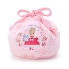 【震撼精品百貨】新娘茉莉兔媽媽_Marron Cream~Sanrio 兔媽媽縮口袋/縮口收納袋-粉絨毛#00851