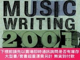 二手書博民逛書店Da罕見Capo Best Music Writing 2001: The Years Finest Writin