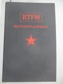 【書寶二手書T1/網路_YEO】RTFM : Red Team field manual_Ben Clark