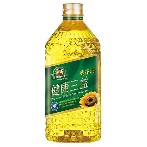 得意的一天三益葵花油1.58L【愛買】