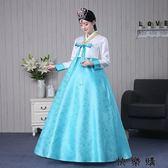 韓版古裝傳統韓服女宮廷禮服