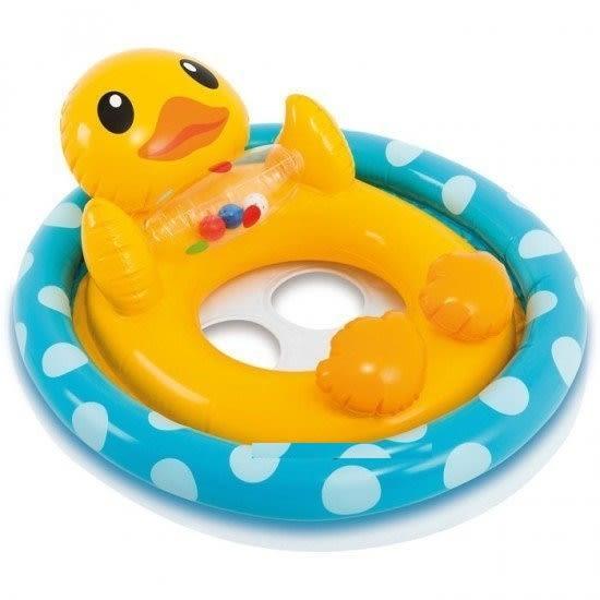 [衣林時尚] INTEX 水上動物騎士游泳圈 (坐式) (鴨子) 23Kg 59570