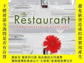 二手書博民逛書店The罕見Restaurant: From Concept To Operation-餐廳:從概念到經營Y43