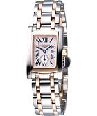 LONGINES 浪琴 DolceVita 獨立小秒針18K半金女錶 L51555717
