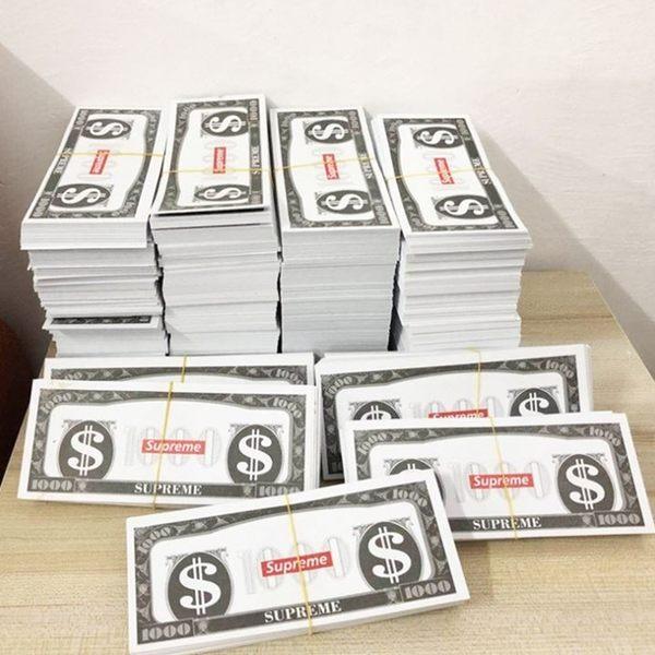 [拉拉百貨] 玩具鈔票 噴錢吐錢玩具槍 撒錢搶 吐射撒錢鈔票槍Supreme 美金 撒錢手槍 小費 夜店 派對