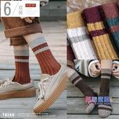 襪子 襪子女中筒襪ins日系秋冬堆堆襪羊毛襪女士長筒棉襪百搭網紅款【快速出貨】