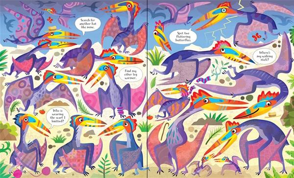 【恐龍拼圖+認知書】PICTURE PUZZLE BOOK AND JIGSAW DINOSAURS/宅在家首選之益智拼圖/內含100片