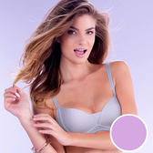 【黛安芬】T-Shirt Bra無鋼圈無痕款 D罩杯內衣(浪漫紫)