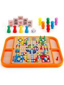 跳跳棋 兒童跳棋益智玩具成人五子棋跳跳棋游戲飛行棋幼兒園早教棋類玩具-凡屋