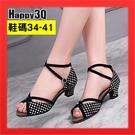 舞鞋41女鞋39涼鞋40低跟性感細跟鞋加大-多色34-41【AAA4697】預購