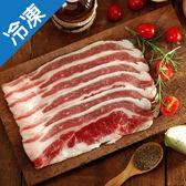 冷凍美國牛五花燒烤片250G/盒【愛買冷凍】