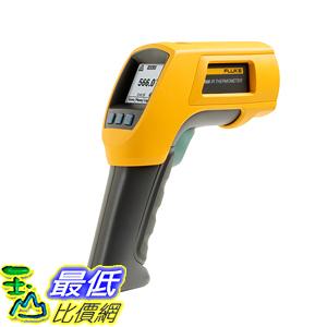 [玉山最低比價網] FLUKE/福祿克紅外線測溫儀溫度計 F566 紅外接觸式點溫儀正品