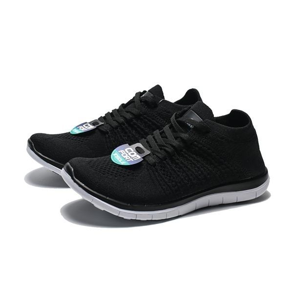 AIRWALK 黑白 編織 襪套 慢跑鞋 男女 (布魯克林) 男 A611255120 女A612255120