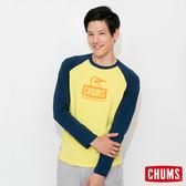 CHUMS 日本 男 L/S 吸濕快排 運動長袖T恤 TransDRY 萊姆綠 CH011174M014