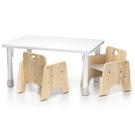 ◆專為一歲以上的兒童設計  ◆協助發展自治感與獨立性 ◆桌子13段高度調節,一歲可用