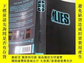 二手書博民逛書店罕見lies謊言Y212829