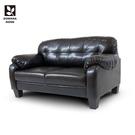 【多瓦娜】巴比摩登雙人沙發/皮沙發-二色-2467