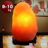 【鹽夢工場】天然精選玫瑰鹽燈(9-10kg|特製座)
