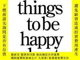 二手書博民逛書店14,000罕見Things To Be Happy About.-14000件值得高興的事。Y436638