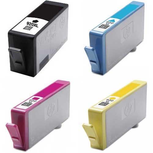 HP 環保墨水匣(NO.920XL高容量 彩色)CD972AA藍色CD973AA紅色CD974AA黃色)(單顆任選)適HP OfficeJet 6000/6500/6500W