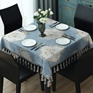 歐式桌巾正方形桌布臺布家用方桌布四方餐桌布布藝八仙桌桌墊麻將機大