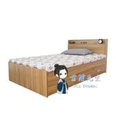 收納床 1.5米現代簡約床靠牆放的單人床收納儲物箱式女孩臥室床T 6色