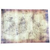 【葉子小舖】復古藏寶圖/航海/復古世界地圖/中古世紀海盜藏寶圖/婚攝道具/居家擺飾/海報壁貼