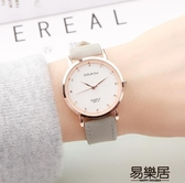 韓版簡約女中學生手錶女錶復古休閒